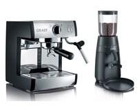 GRAEF zestaw do kawy PIVALLA SET ekspres ES 702 + młynek CM 702, BEZPŁATNY ODBIÓR: WARSZAWA, WROCŁAW, KATOWICE, KRAKÓW!