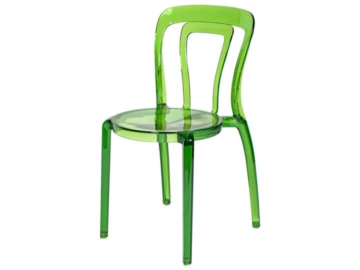 Krzesło Plastikowe Iris Zielone Zielony