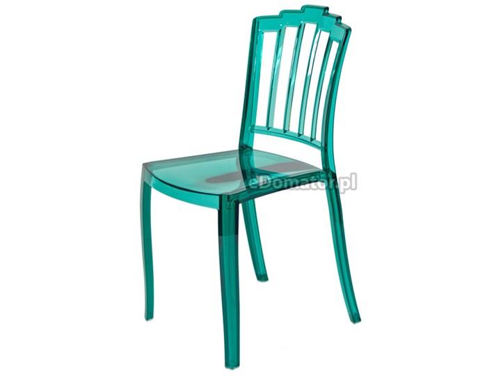 Krzesło Plastikowe Queen Zielone Zielony