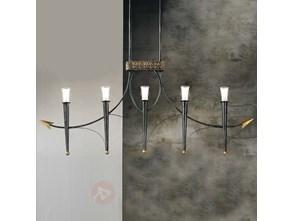 lampa wisz ca z regulacj wysoko ci pomys y inspiracje z. Black Bedroom Furniture Sets. Home Design Ideas