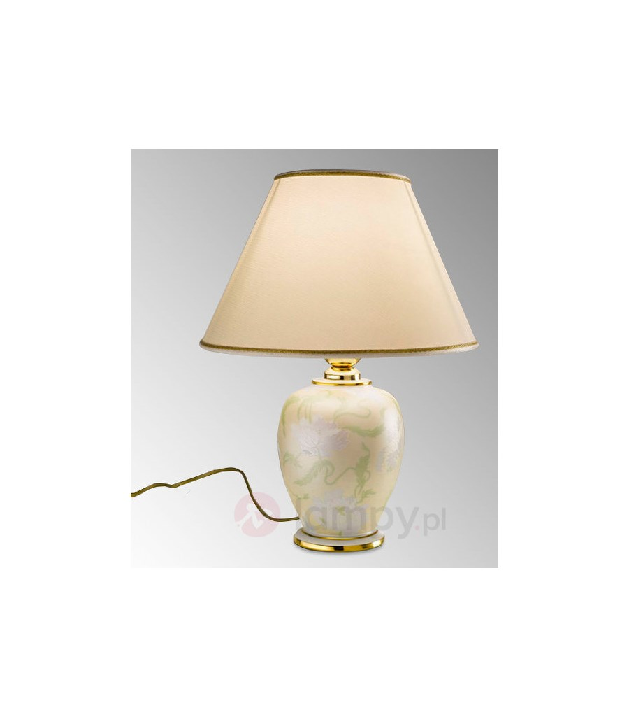 Ceramiczna Lampa Stołowa Giardino Perla Lampy Stołowe Zdjęcia