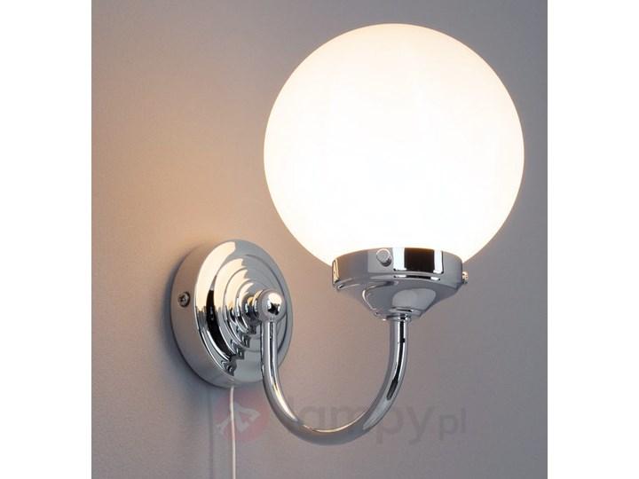 Kulista Lampa ścienna Talina Do łazienki