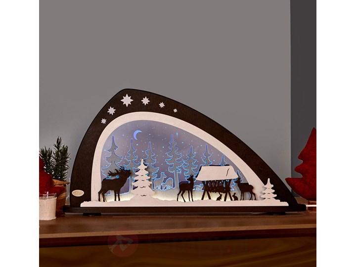 Piękna Lampa łuk świetlny Zwierzęta Leśne Z Led