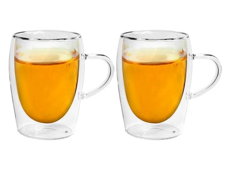 Double Glass Kpl Termicznych Szklanek Z Uchem 300 Ml Szklanki