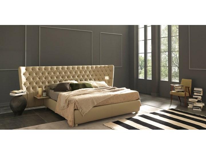 łóżko 160x200 Selene Extra Large Tapicerowane Wezgłowie Bolzan Letti Produkt Włoski