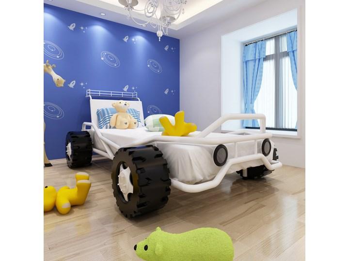 242006 Vidaxl łóżko Dla Dzieci Samochód Terenowy 190x90 Cm Stal