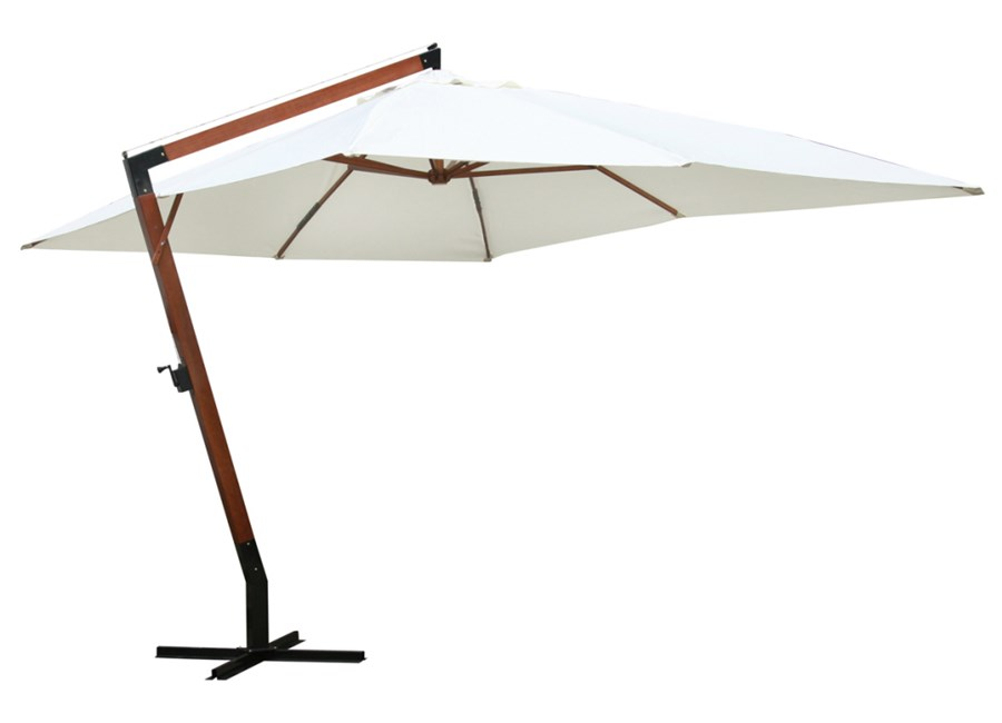 vidaxl parasol 300 x 400 cm bia y parasole ogrodowe. Black Bedroom Furniture Sets. Home Design Ideas