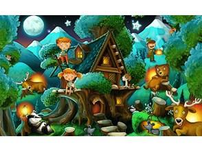 Nocą w lesie FOT000