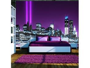 Fototapeta - Świetlisty Manhattan
