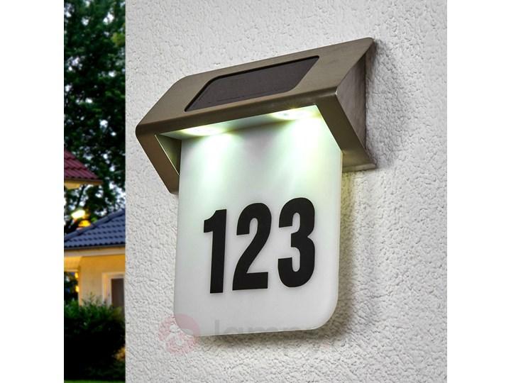 Solarne Oświetlenie Numeru Domu Led Nelson