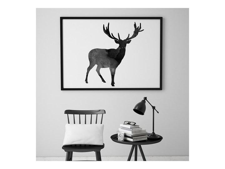 Scandi Deer Plakat W Stylu Skandynawskim