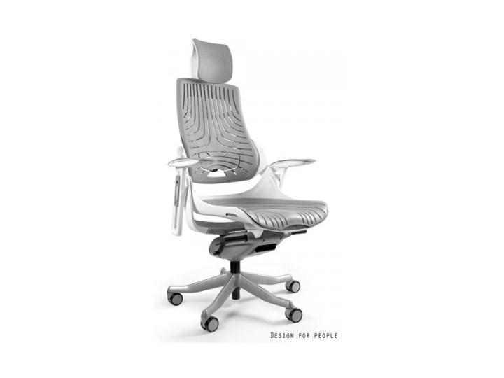 Unique Krzesło Biurowe Wau Biało Szare W 609w 8 Tpe Krzesła I