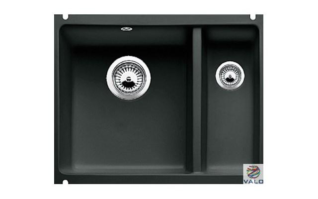 Zlewozmywak Ceramiczny Podwieszany Blanco Subline 350150 U Czarny