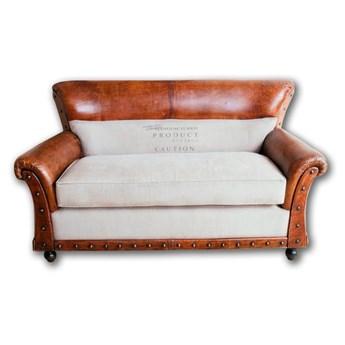 Brown Sofa 2 osobowa 150 x 75 x 90