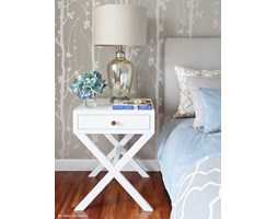 SZAFKA NOCNA HAMPTON CROSS WHITE SL COLLECTION