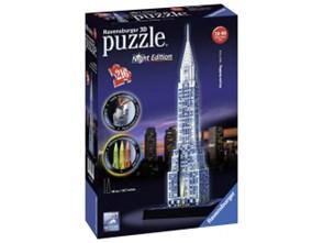 Ravensburger Puzzle 3D 216 el Chrysler Edycja Nocą 125951