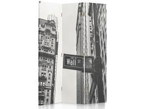 Wall Street, Parawan pokojowy dwustronny obrotowy 360° na płótnie - Canvas