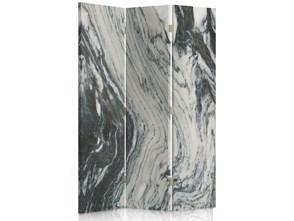 Marmur, Parawan pokojowy dwustronny obrotowy 360° na płótnie - Canvas