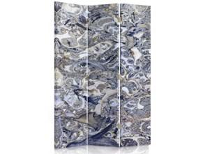 Marmurowa mozaika, Parawan pokojowy dwustronny obrotowy 360° na płótnie - Canvas
