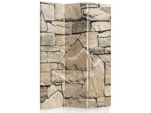 Ściana z piaskowca, Parawan pokojowy dwustronny obrotowy 360° na płótnie - Canvas