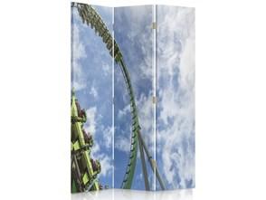Atrakcja, Parawan pokojowy dwustronny obrotowy 360° na płótnie - Canvas