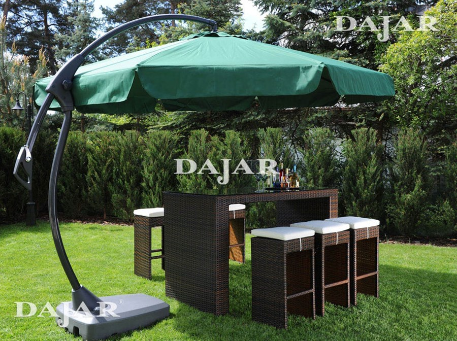 parasol ogrodowy ampel deluxe 3 5 m zielony patio parasole ogrodowe zdj cia pomys y. Black Bedroom Furniture Sets. Home Design Ideas