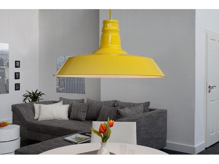 Przemysłowa lampa wisząca UVA Żółta