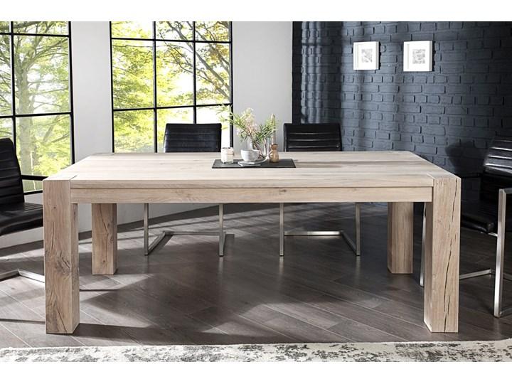 Stół Rozkładany Solido 200 300 Cm Bielony Dąb