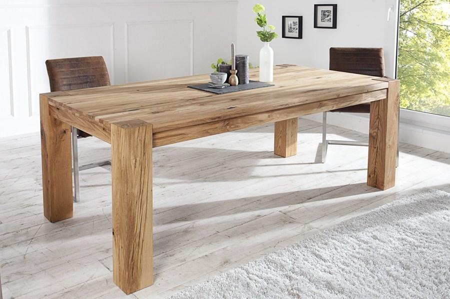 Stół Rozkładany Solido 200 300 Cm Dębowy Stoły Kuchenne
