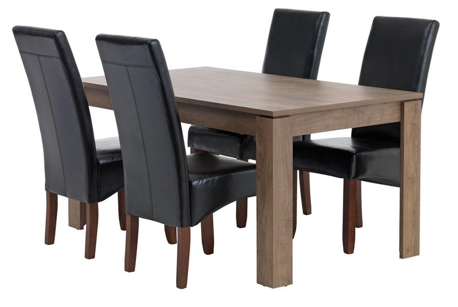 Stoły Z Krzesłami Jysk Wyposażenie Wnętrz Homebook