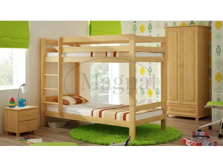 łóżko Drewniane Piętrowe 90x200