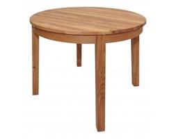 Signu Design Stół drewniany, dębowy okrągły rozkładany Luna