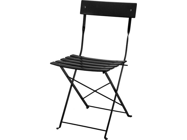 Krzesło Składane Bistro Czarne