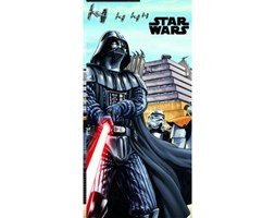 Dekoria Ręcznik drukowany 75x150 Star Wars Vader