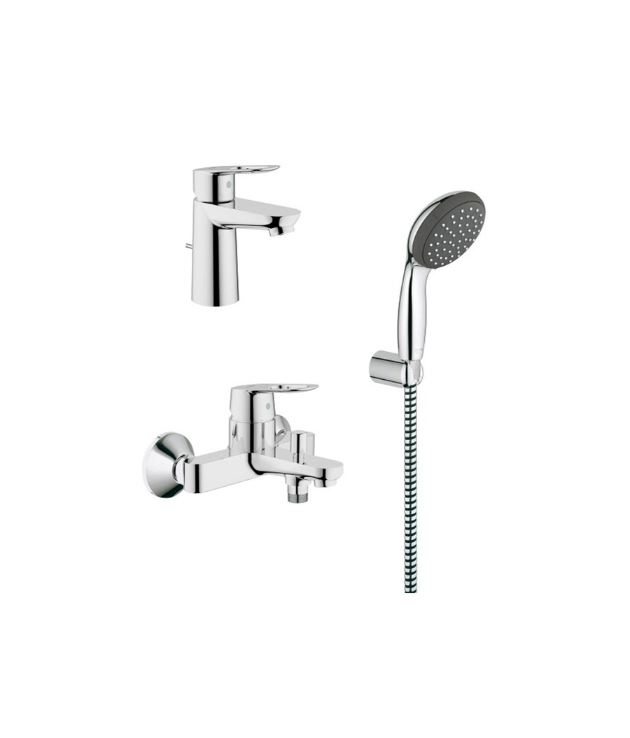 Grohe start finest grohe bathroom faucets admirable aedf allure in widespread faucet handles - Grohe start loop ...