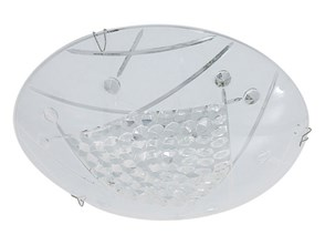 Plafon LED Ditta 1 x 8 W biały