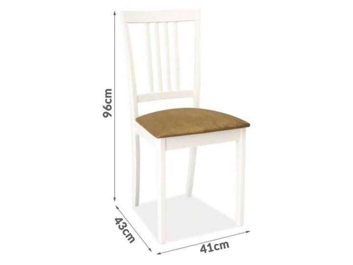 Krzesło Do Kuchni Lub Jadalni Gerta Drewniane Białe