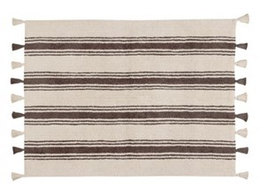 Dywan STRIPES 120x160cm Elephant grey - Lorena Canals