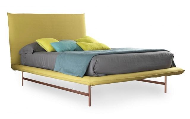 łóżka Kolor żółty Italia Style Wyposażenie Wnętrz Homebook