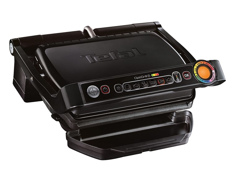 grill tefal optigrill plus gc712d34 por wnaj ceny na homebook. Black Bedroom Furniture Sets. Home Design Ideas