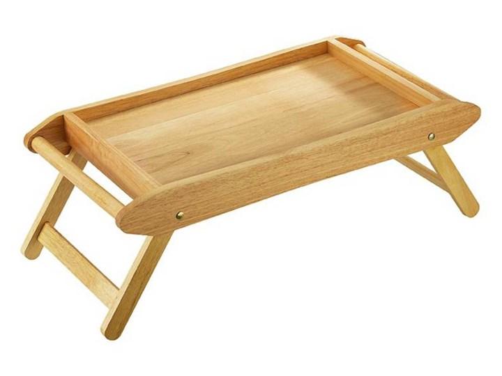 Drewniany stolik śniadaniowy (kauczukowiec) -  Zassenhaus - Produkt dostępny na  WWW.DECOSALON.PL Drewno Taca