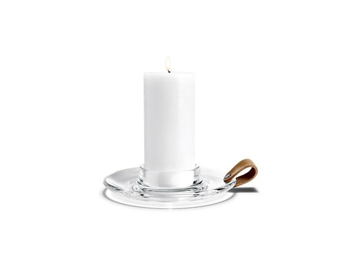 Świecznik Design With Light, 19 cm - HOLMEGAARD - Produkt dostępny na  WWW.DECOSALON.PL skóra szkło Styl klasyczny Styl skandynawski