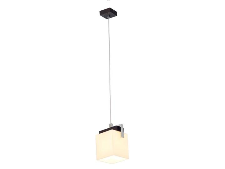 TROS lampa wisząca 1 x 60W E27 ARGON 254 Styl Klasyczny Metal Szkło Lampa inspirowana Drewno Styl nowoczesny
