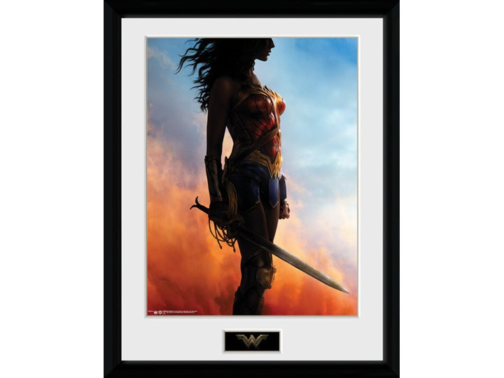Wonder Woman Stand Oprawiony Plakat