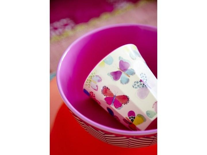 RICE, Kubek z melaminy w motyle Tworzywo sztuczne ceramika Kubek do kawy i herbaty Motyw Ze zwierzętami