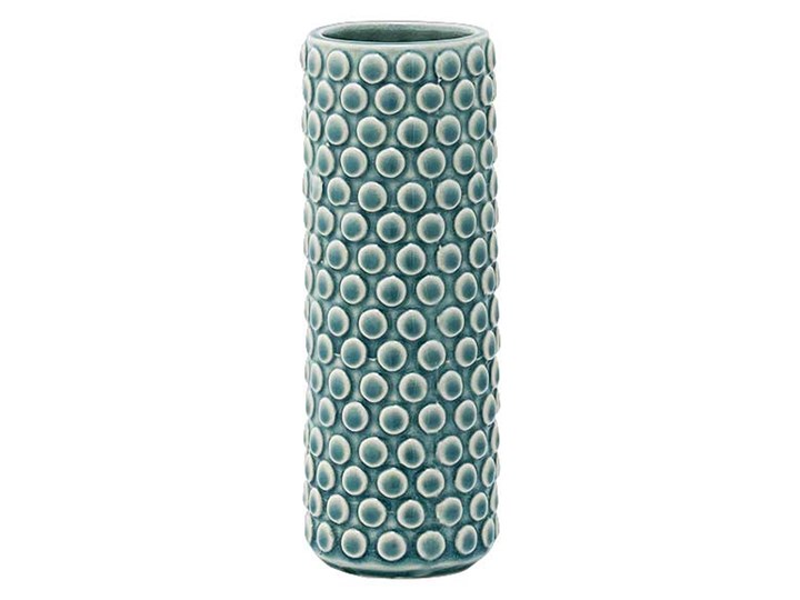 Bloomingville, Wazon ceramiczny BUBBLE - Dusty Blue Ceramika
