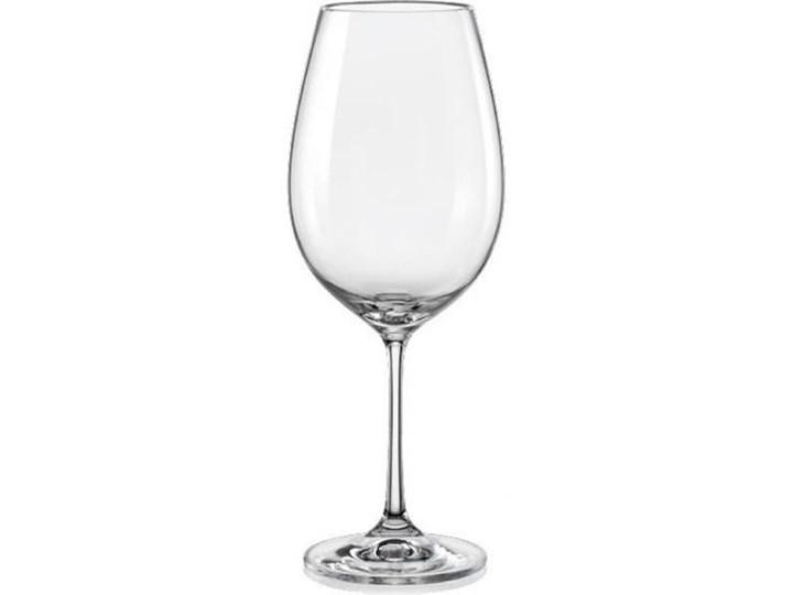 Kieliszek do wody ze szkła kryształowego Violet 550 ml Styl klasyczny drewno tkanina szkło do białego wina Styl nowoczesny