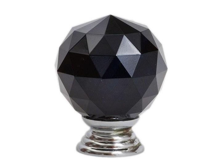 Materiał szkło Uchwyt do mebli Crystal Black 30 mm Gałki i uchwyty