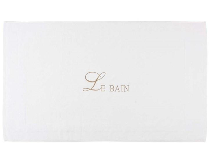 Materiał szkło VI Le Bain White 70x120cm rug Dywaniki łazienkowe