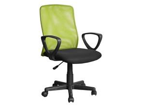 Fotel obrotowy Alex czarno zielony